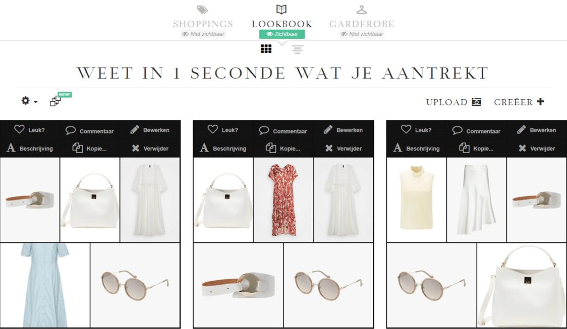 Garderobe management tool van stylexperience voor iedereen